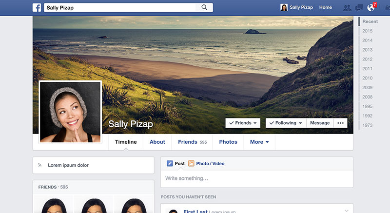 Facebook Cover Maker Facebook Timeline Cover Editor