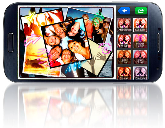 piZap Android app