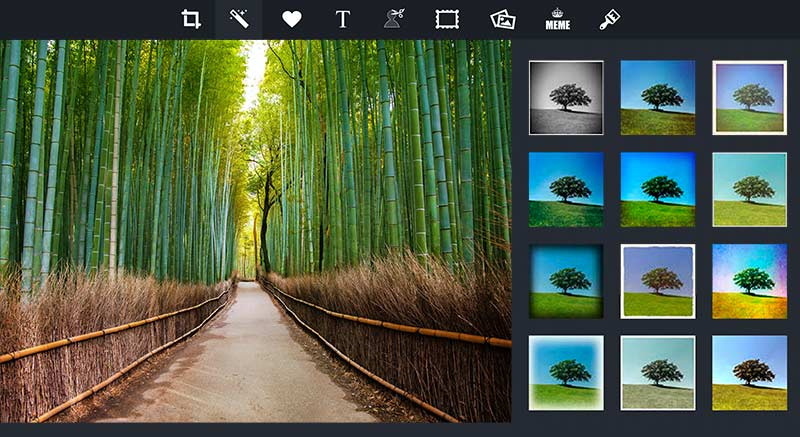 software edit photo pizap editing