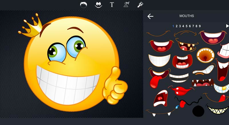 emoji maker designer sc small online photo editor pizap free photo editor & collage maker