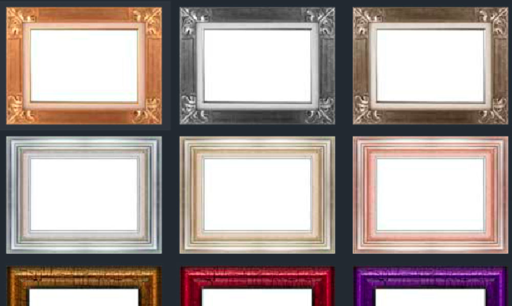 photo frames and borders app screenshot
