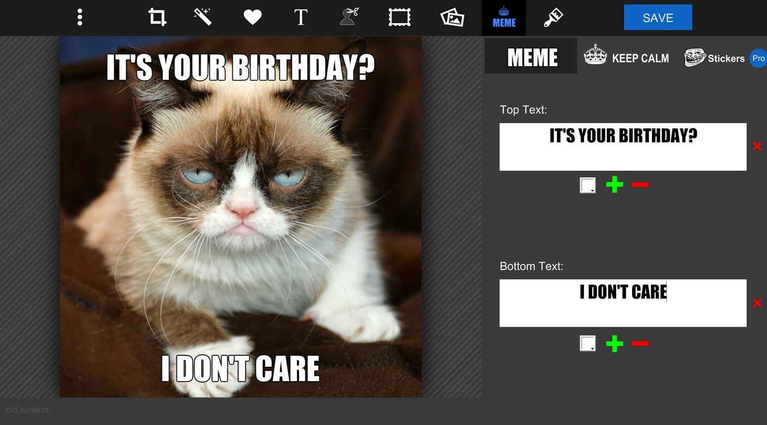 Online Meme Maker Meme Designer Tool Pizap